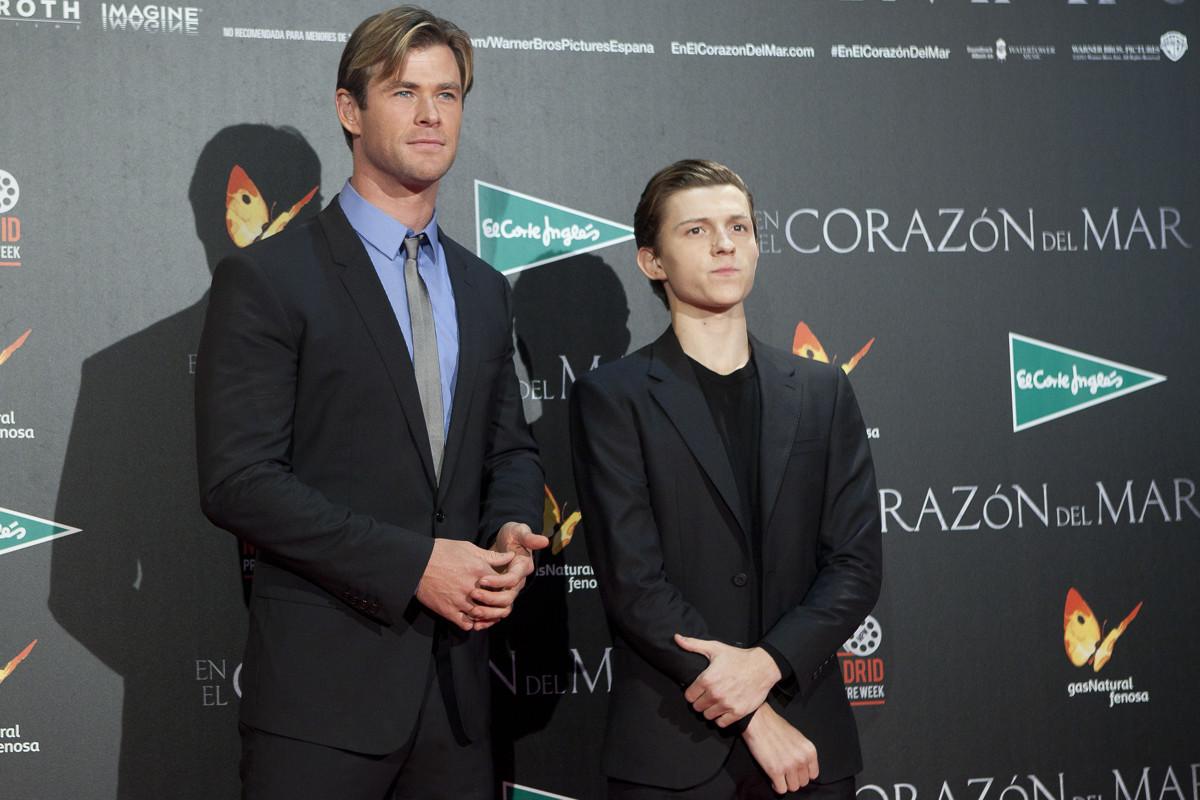 Cómo Chris Hemsworth ayudó a Tom Holland a ser Spider-Man