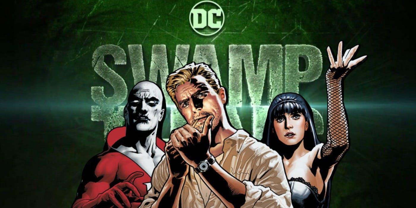 La cancelada Swamp Thing de DC planeaba tres temporadas y spinoff de Justice League Dark