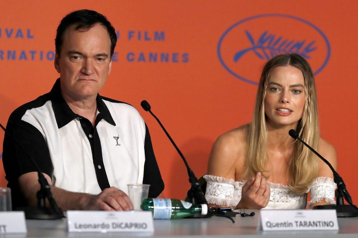 Margot Robbie responde a la polémica de trabajar con Tarantino