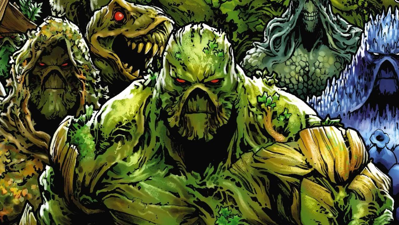 La cancelada Swamp Thing planeaba tres temporadas y spinoff de Justice League Dark