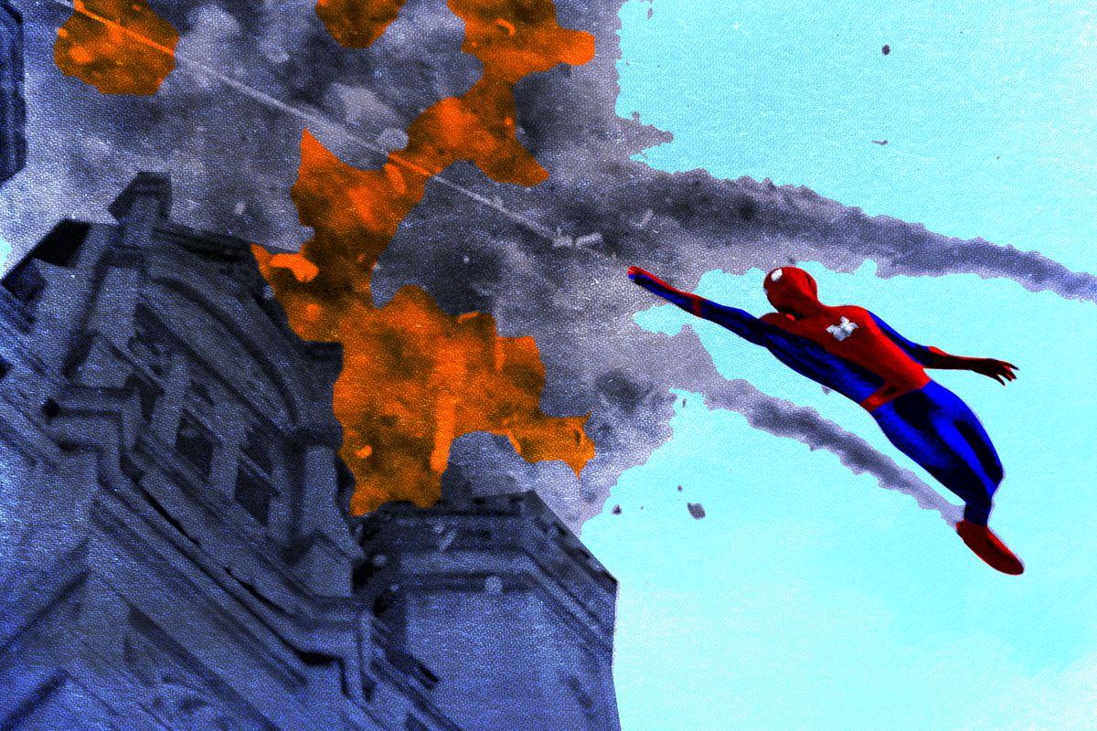 Spider-Man Ringer illustration