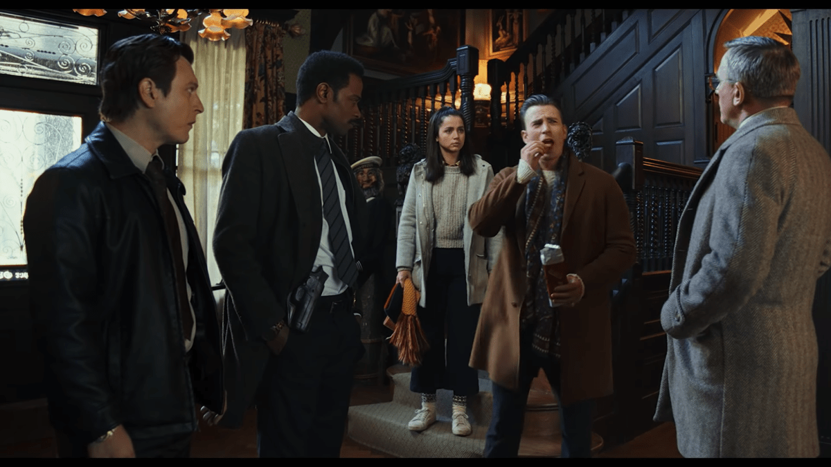 El thriller Knives Out de Rian Johnson libera impresionante elenco en primer tráiler