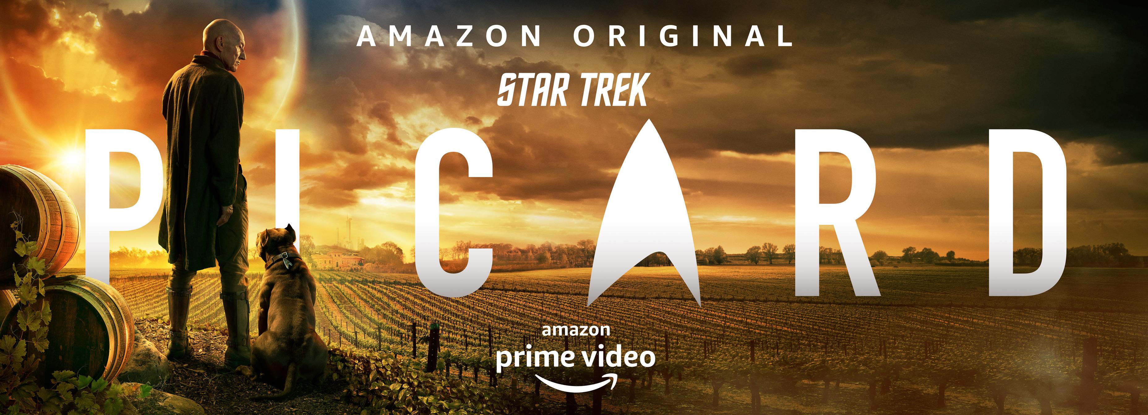 Sir Patrick Stewart en póster y teaser de Star Trek: Picard de Amazon Prime Video