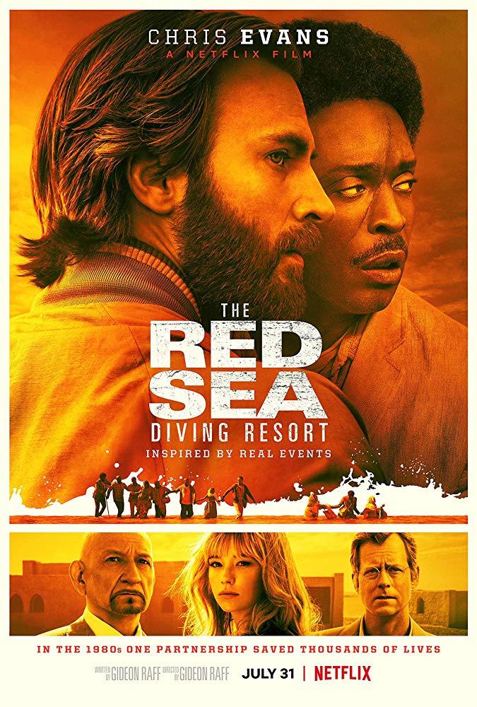 Chris Evans protagoniza tráiler del drama histórico Red Sea Diving Resort