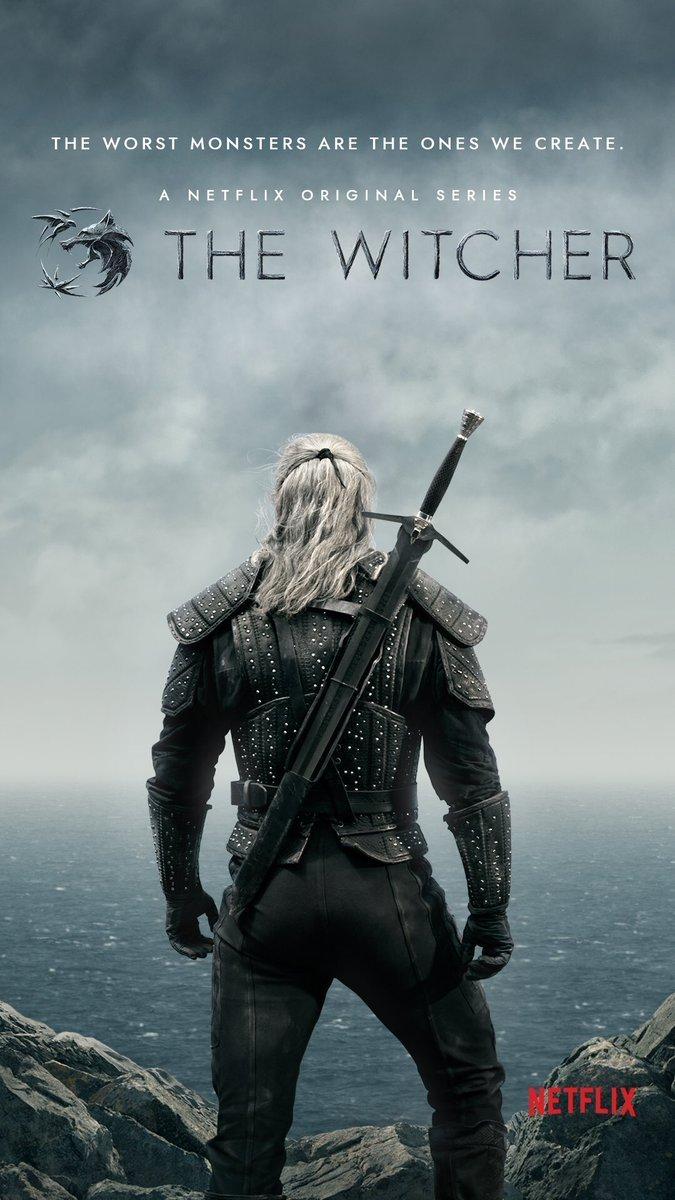 Netflix libera nuevo arte promocional de la serie The Witcher