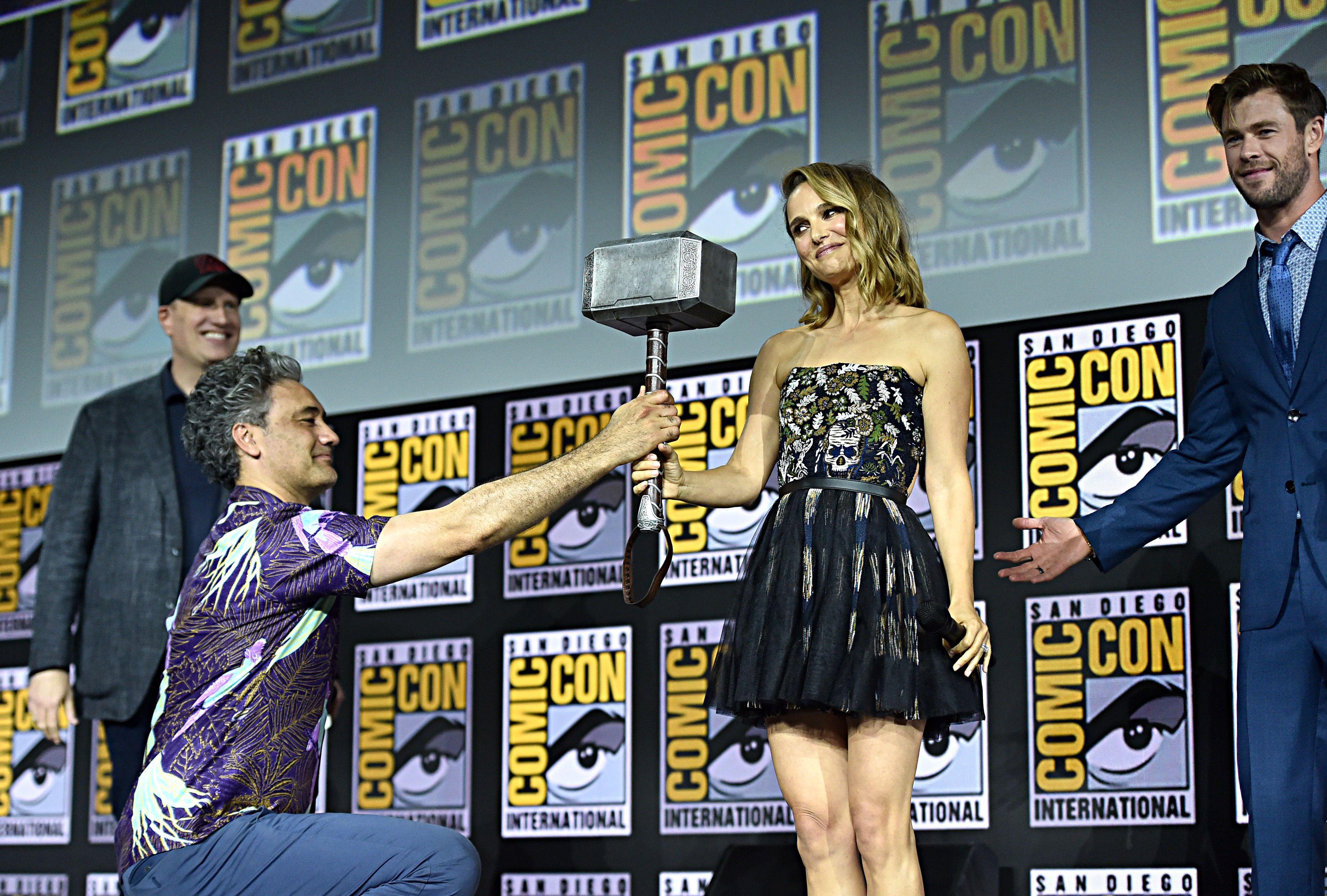 Así convencieron a Natalie Portman para volver a Marvel