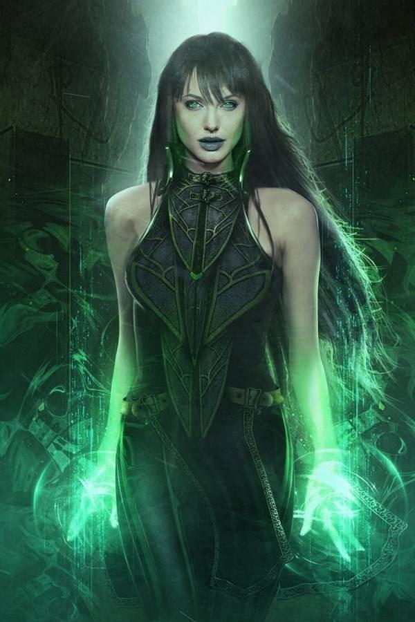 Primeras palabras y look de Angelina Jolie para The Eternals