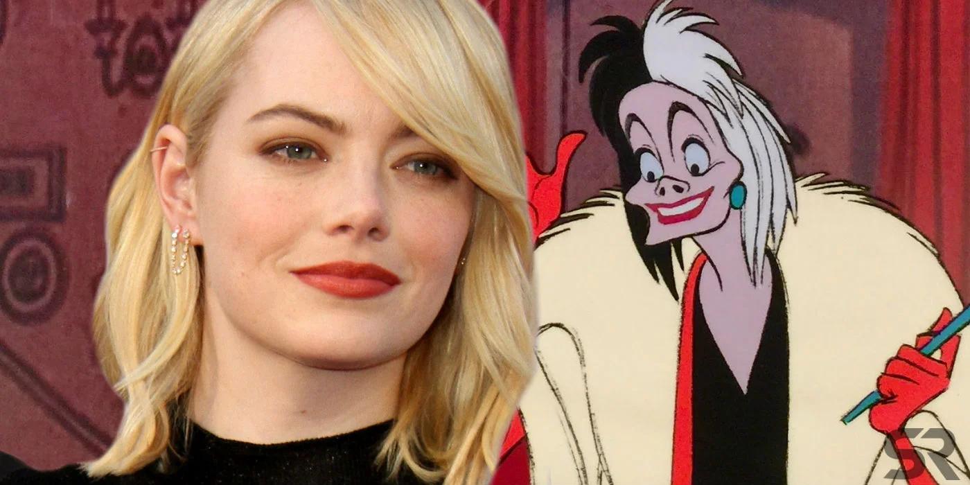 Primer vistazo a Emma Stone como Cruella de Vil