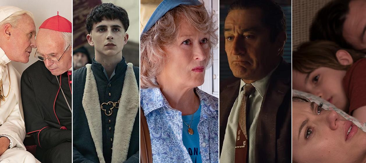 Netflix anuncia fecha de estreno de películas que buscan el Óscar 2020