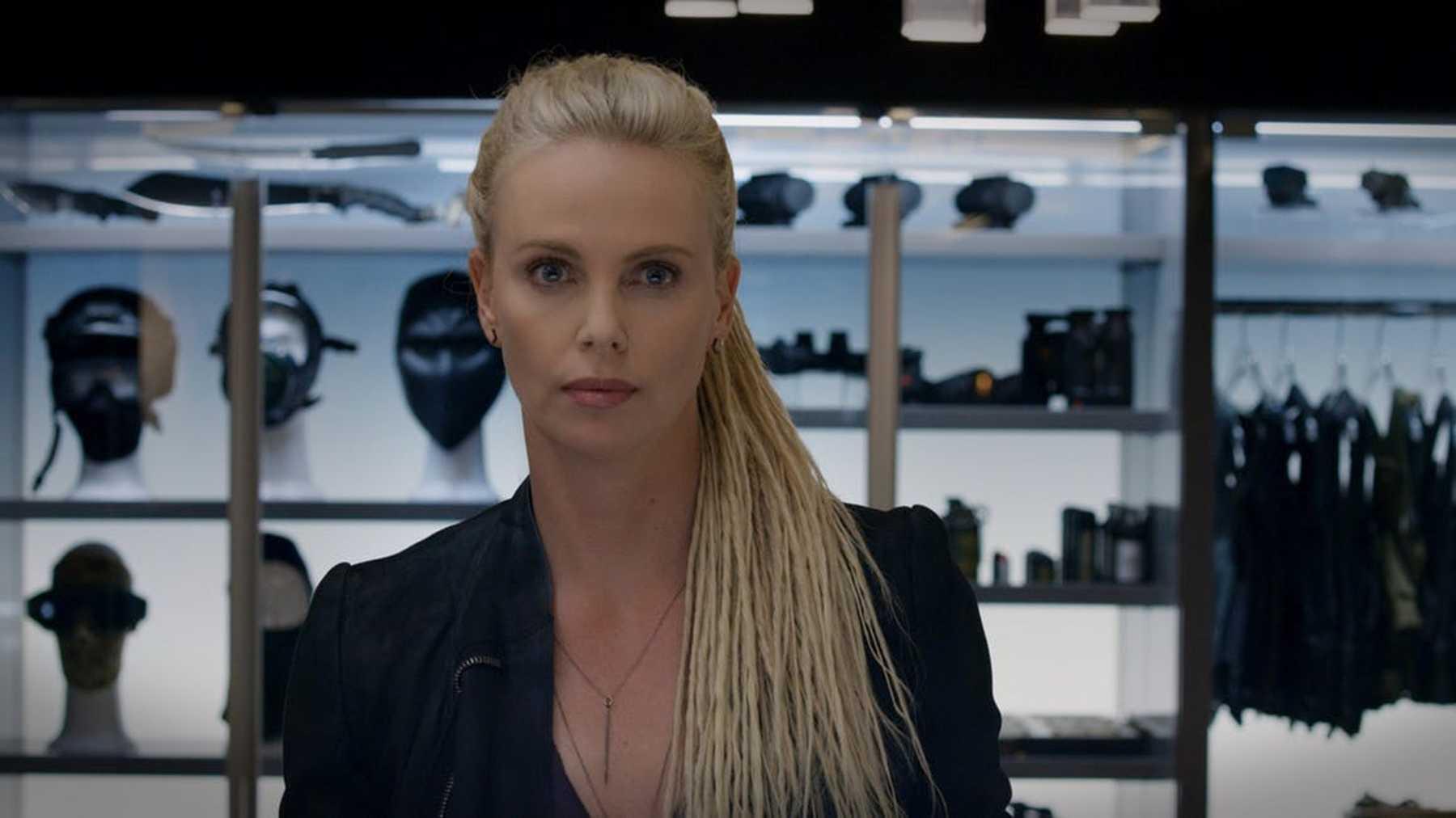 El drástico cambio de look de Charlize Theron para Fast & Furios 9