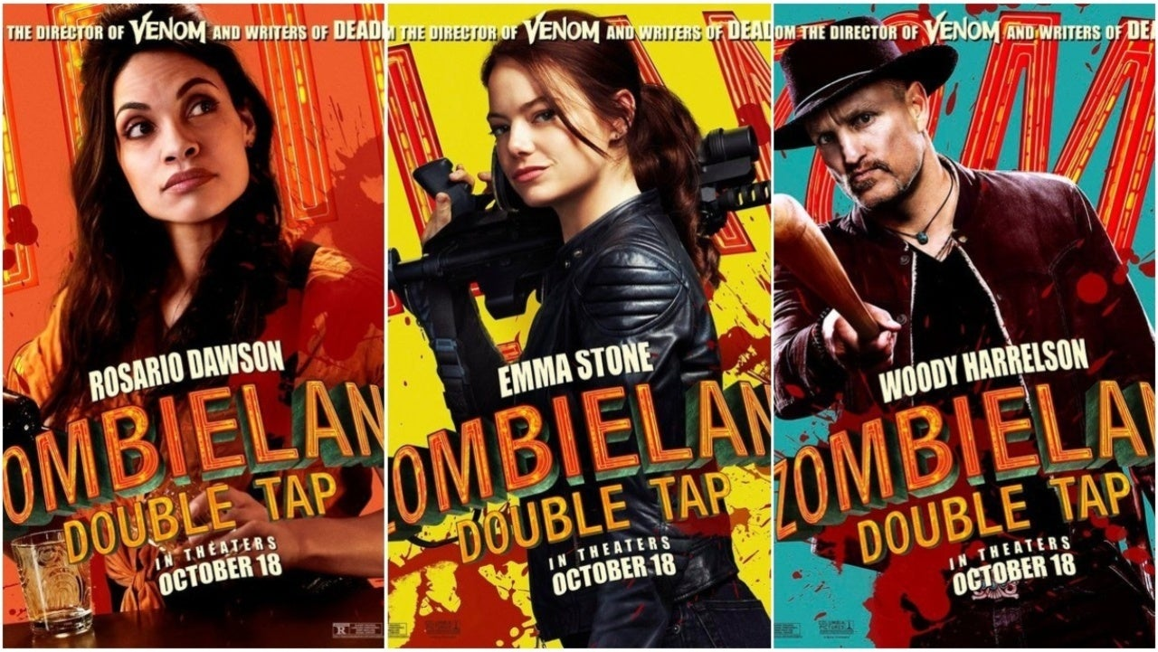 Zombieland: Double Tap remata con nuevos character posters