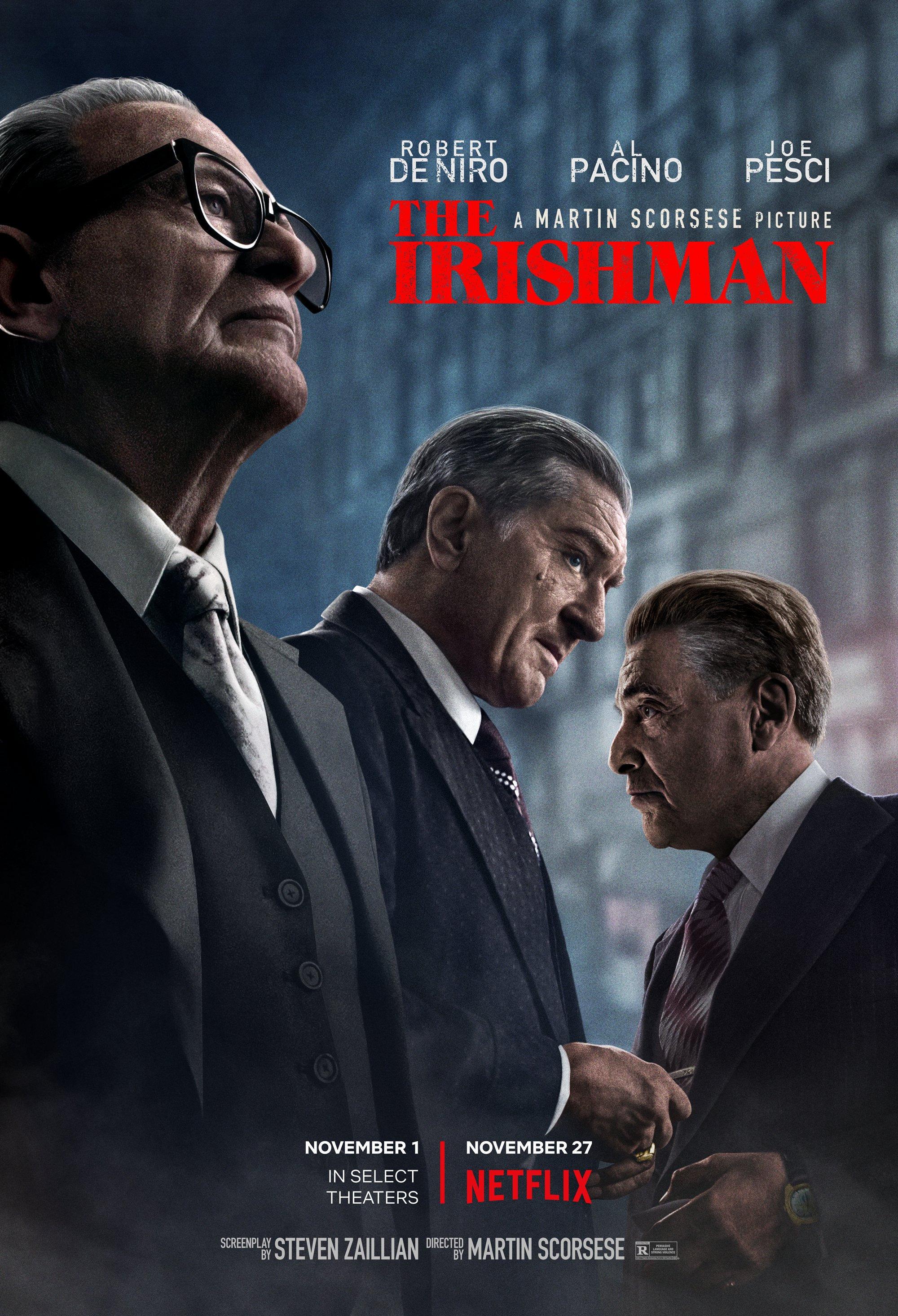 The Irishman fue vista por 13 millones de televidentes en Netflix