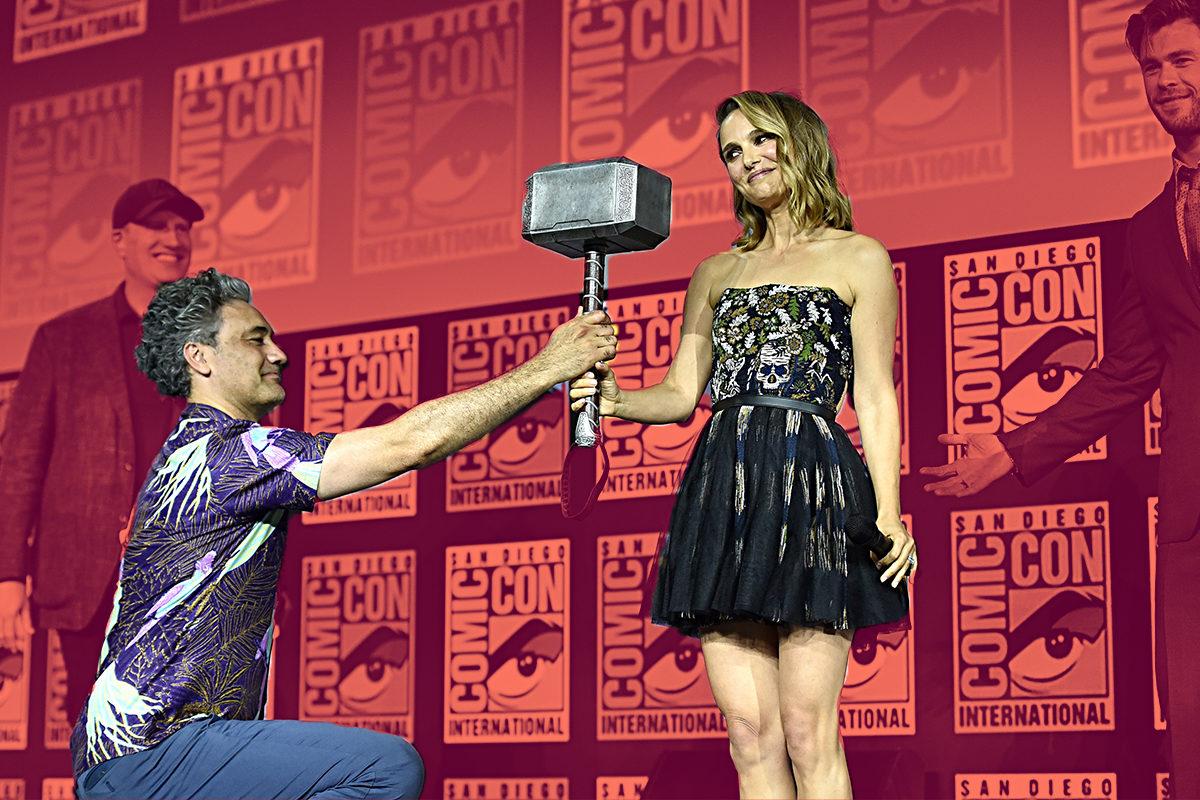 Natalie Portman en Thor: Love & Thunder
