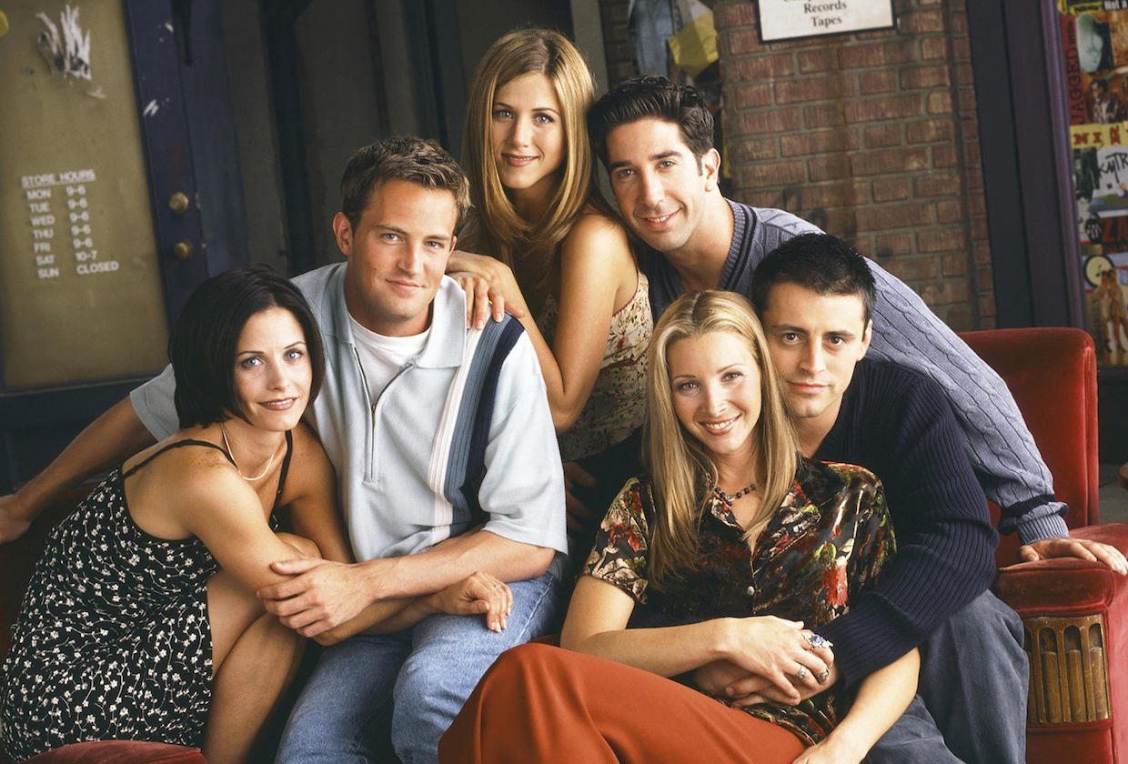FRIENDS planea regreso con evento especial para HBO Max de WarnerMedia