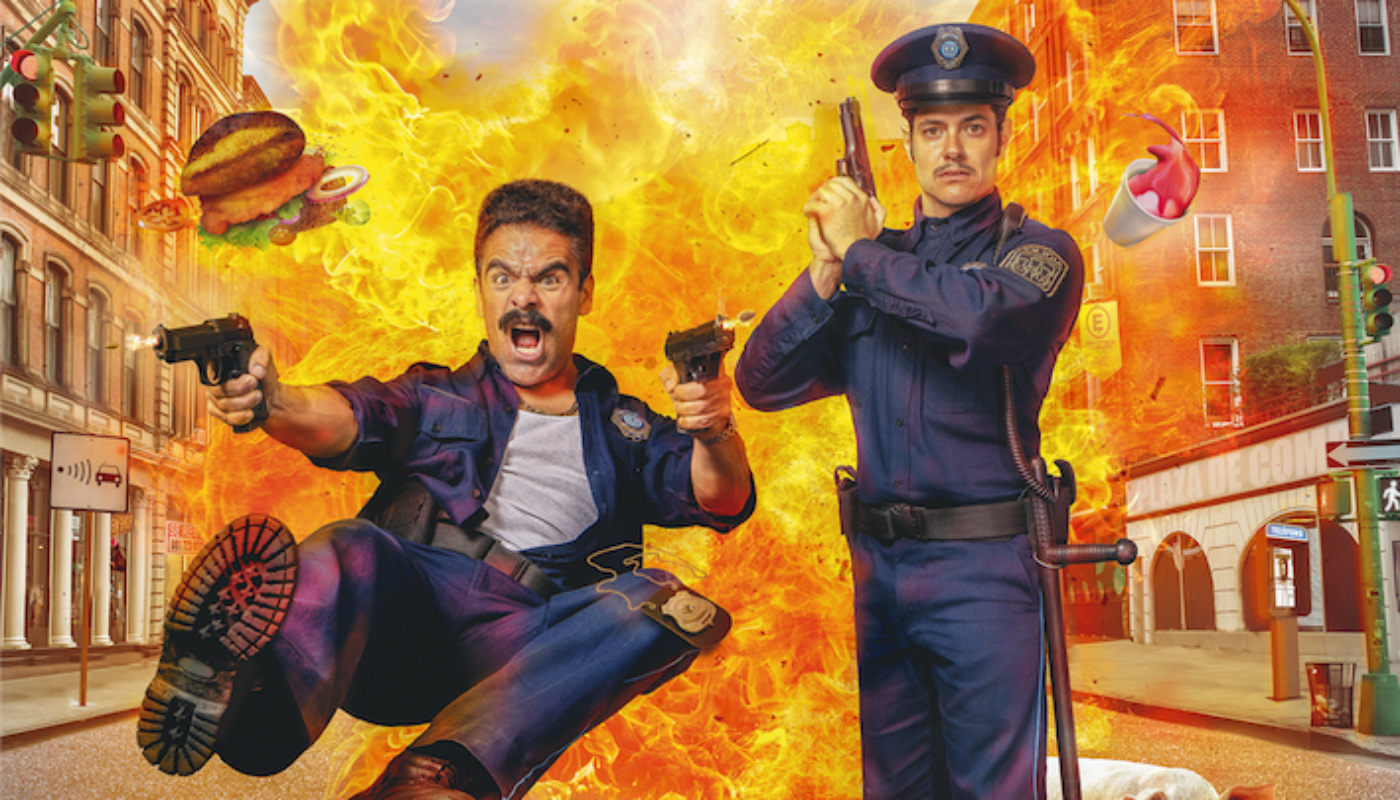 Placa de Acero, cop-buddies a la mexicana