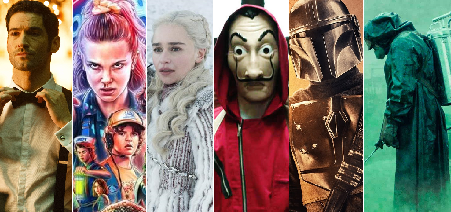 Todas las series más vistas (y buscadas) del 2019