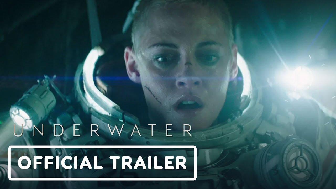 El nuevo spot de Underwater revela al villanesco monstruo
