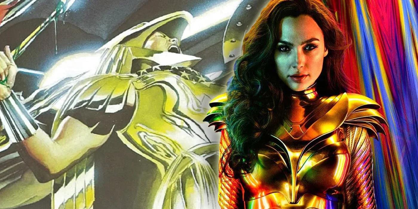 Arte promocional de Wonder Woman 1984 confirma nueva armadura de la superhéroe