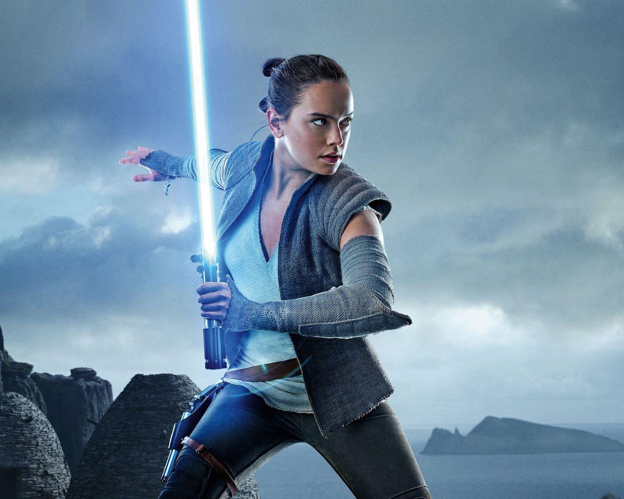 ¿Y si esta actriz hubiera sido Rey en Star Wars?