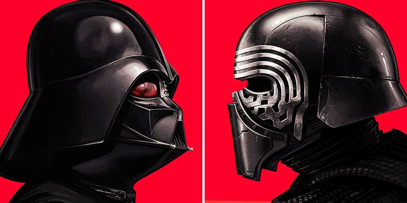 Kylo Ren vs Darth Vader
