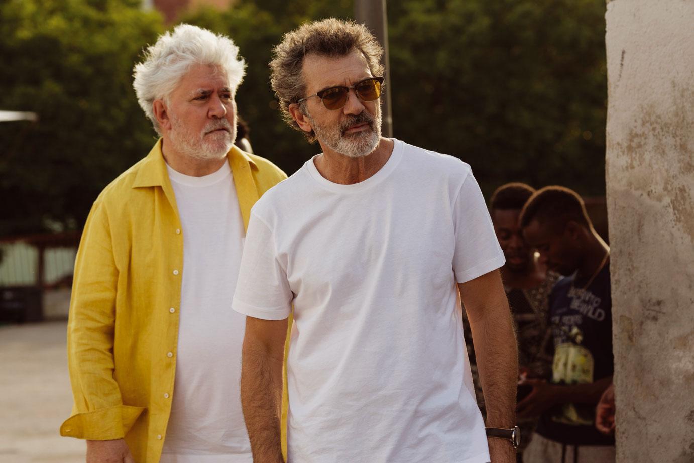 Pedro Almodovar y Antonio Banderas reaccionan a su nominación al Oscar
