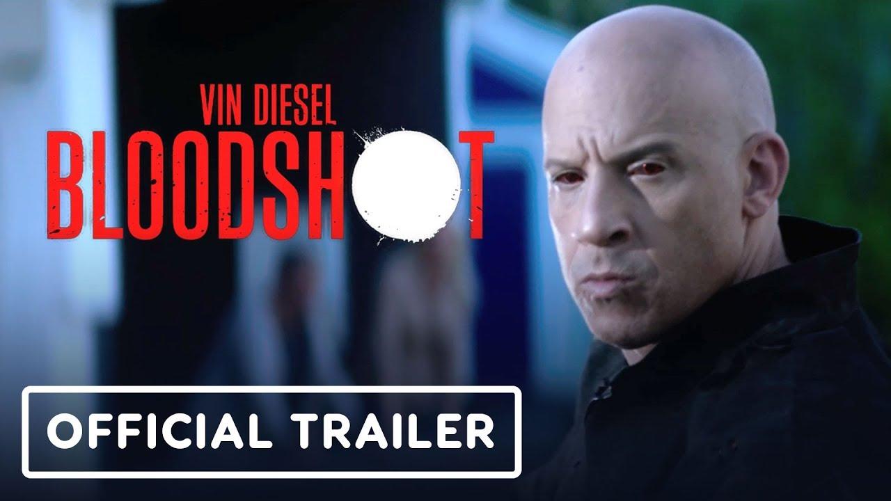 Bloodshot libera tráiler con un imparable Vin Diesel con súper poderes