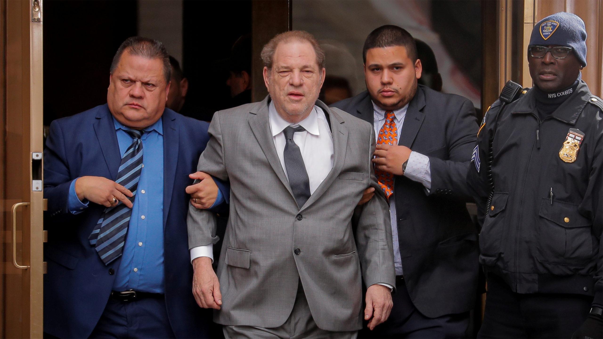 """""""Culpable"""": Hollywood reacciona ante veredicto de Harvey Weinstein"""