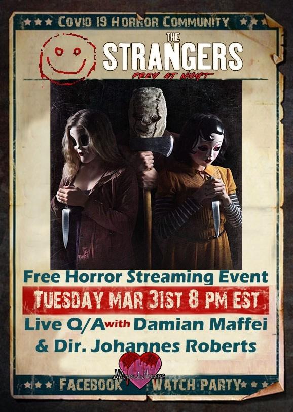 The Strangers: Prey at Night te invita a fiesta virtual