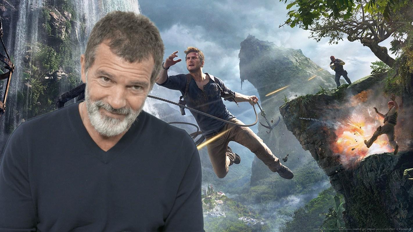 La adaptación Uncharted de Ruben Fleischer ficha a Antonio Banderas