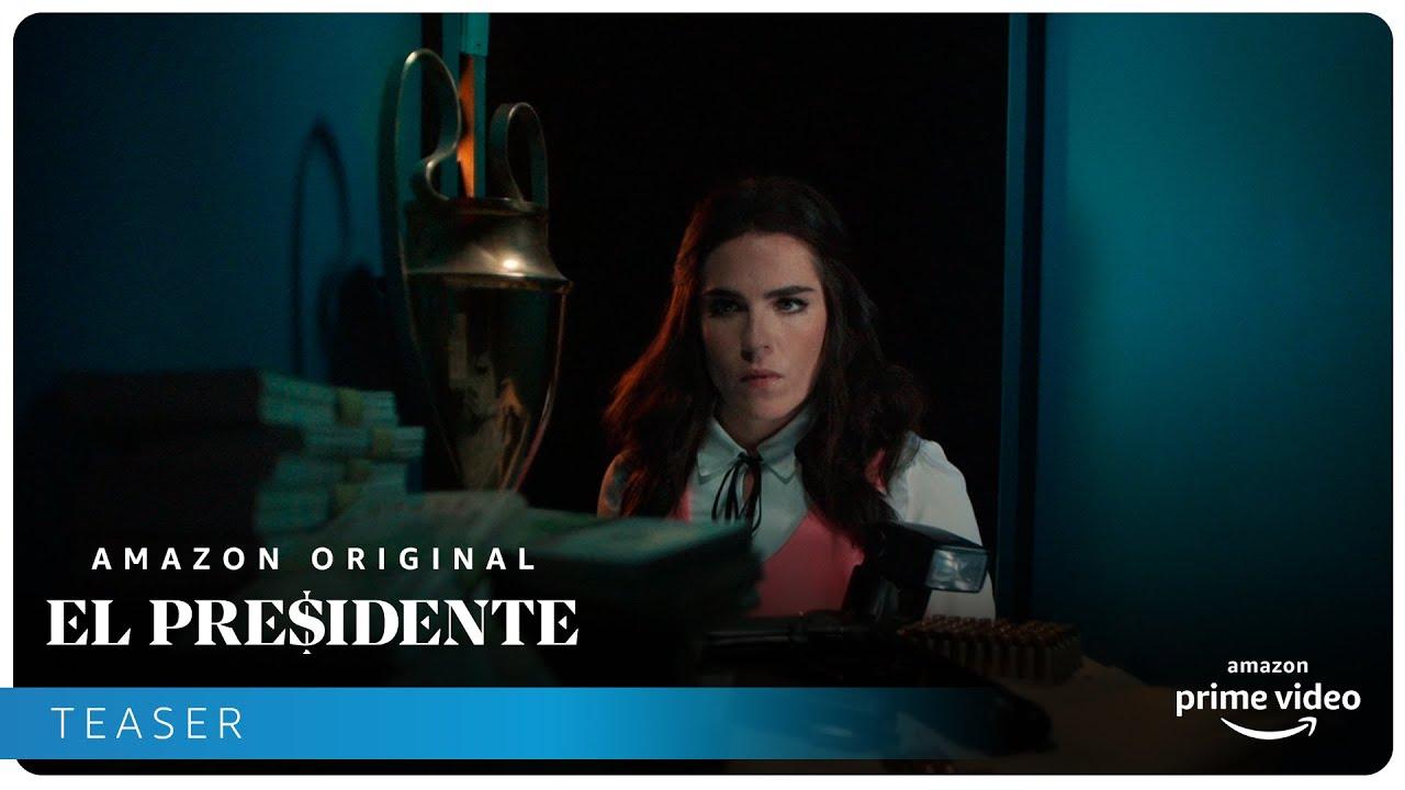 Prime Video libera teaser de El Presidente, la serie del FIFA GATE