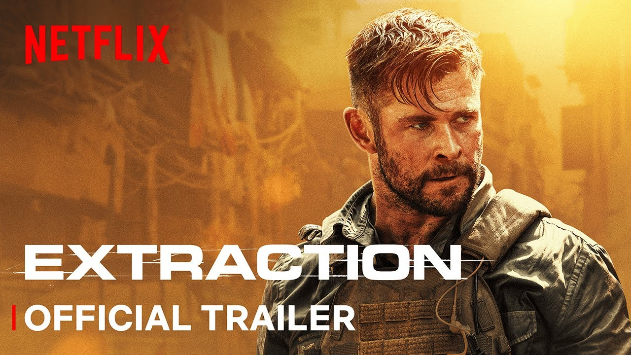 Netflix debuta explosivo tráiler de Extraction con Chris Hemsworth