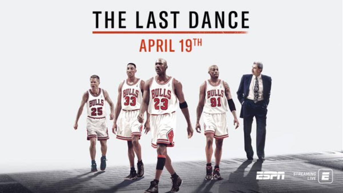 El documental de Michael Jordan adelanta estreno en Netflix