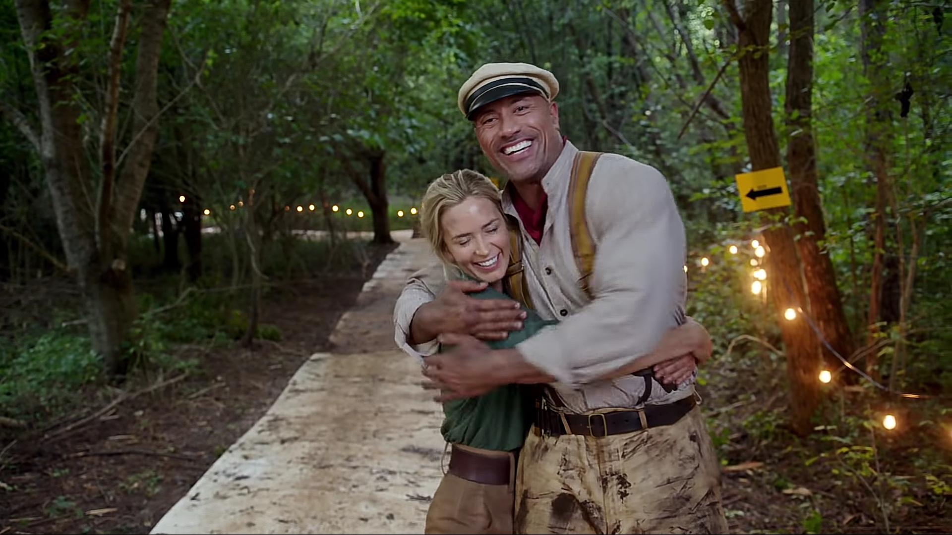 Reunidos de nuevo: Dwayne Johnson y Emily Blunt tendrán superpoderes en Ball and Chain