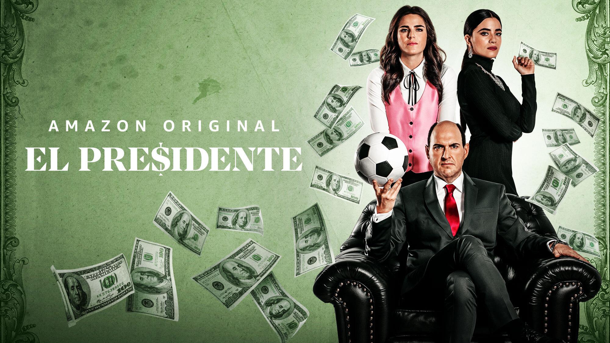 Prime Video revela tráiler y lanzamiento de El Presidente, la serie sobre el FIFA GATE