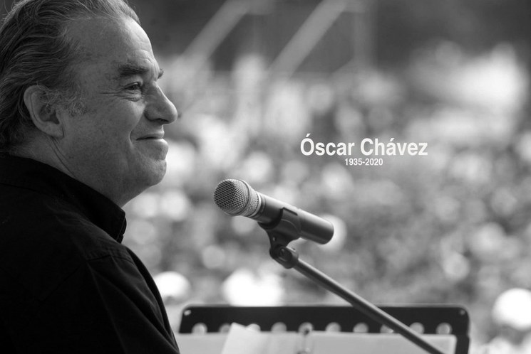 En memoria de Óscar Chávez