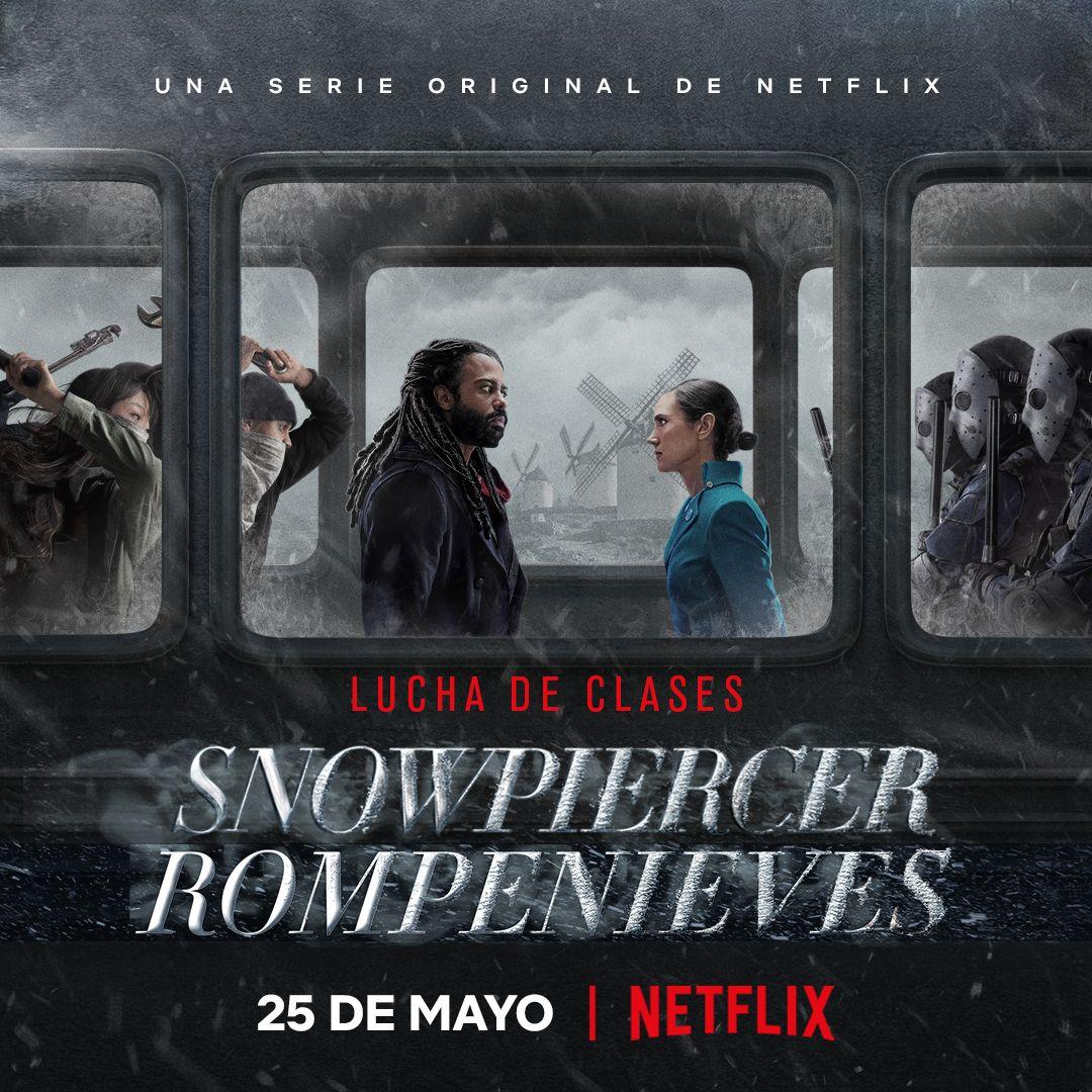 Su atención por favor: la serie Snowpiercer arriba a Netflix este lunes