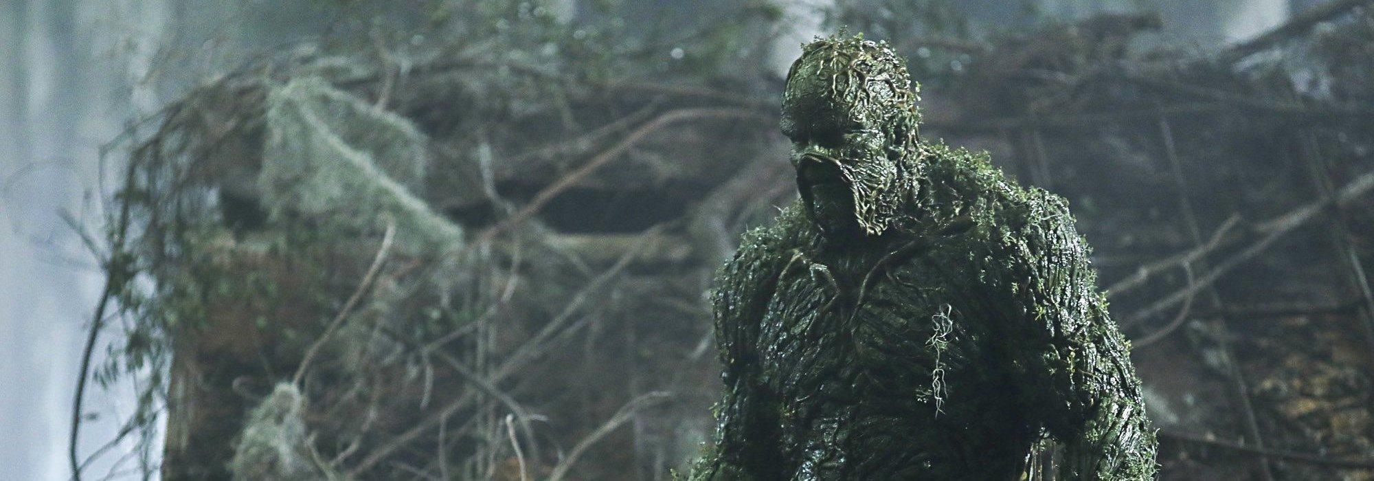 The CW anuncia estreno de Swamp Thing con póster nuevo