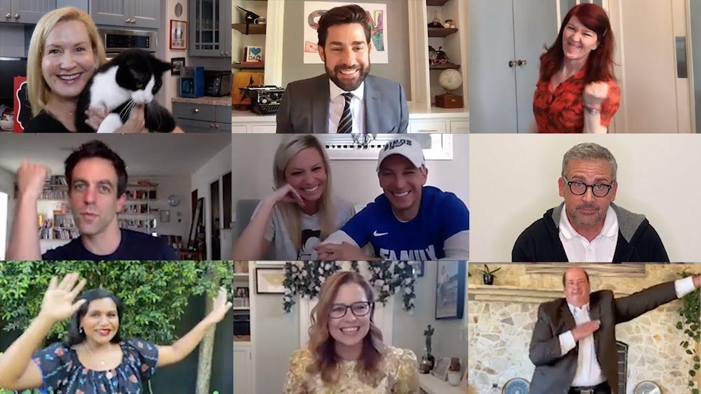 El elenco de The Office se reúne y recrea escena icónica de la serie