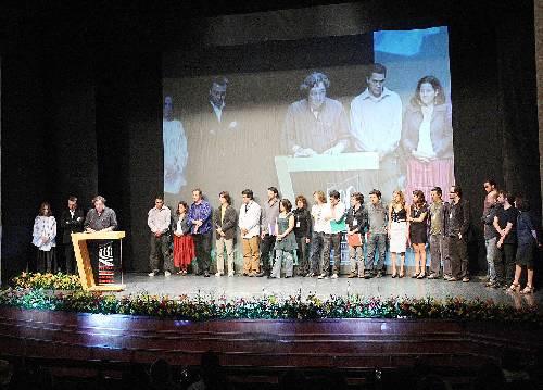 Los ganadores del Séptimo Fetsival Internacional de Cine de Morelia