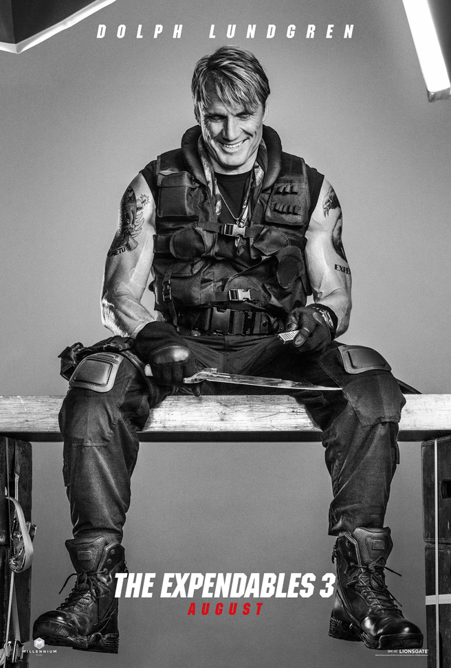 Dolph Lundgren Expendables 3