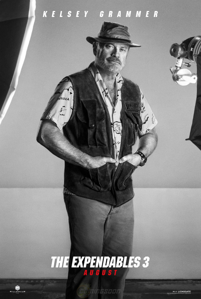 Kelsey Grammer Expendables 3