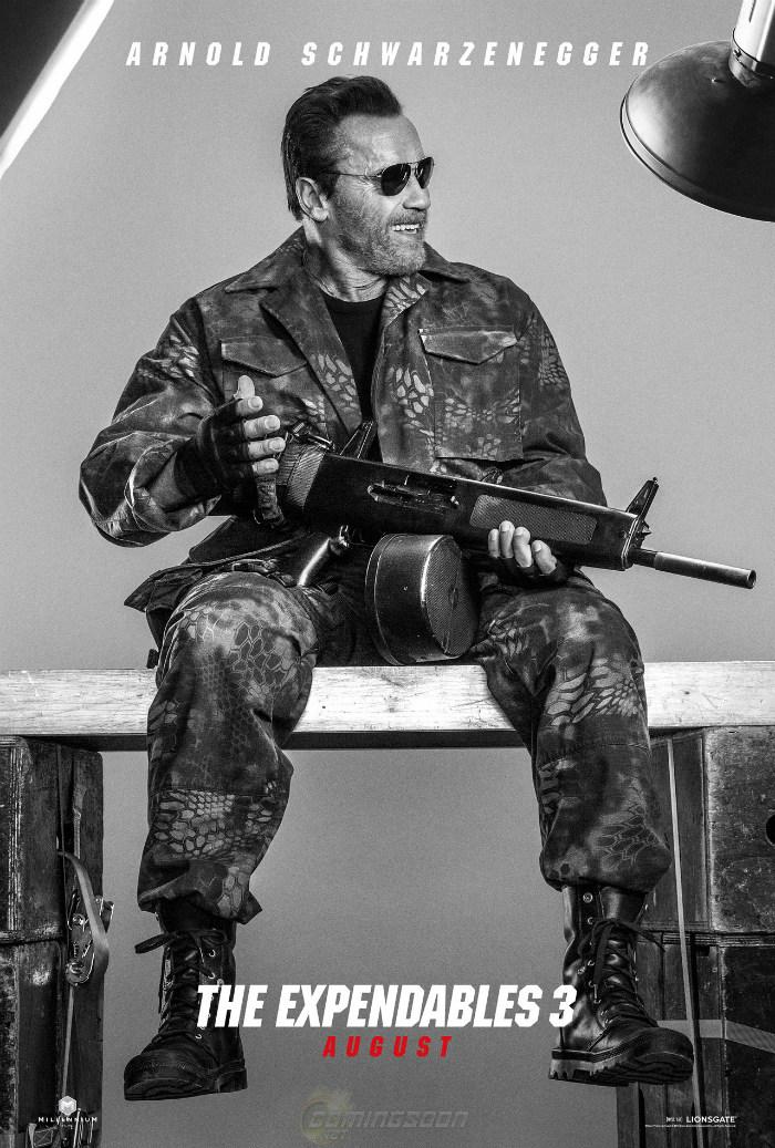 Arnold Schwarzenegger Expendables 3