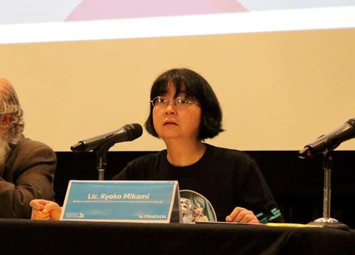 Conferencia  Kyoko Mikami