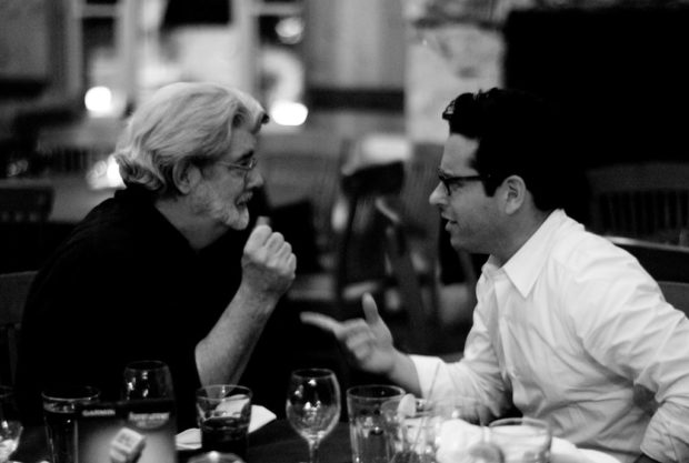George Lucas y JJ Abrams / Photo by @Joi - Flickr - Creative Commons License