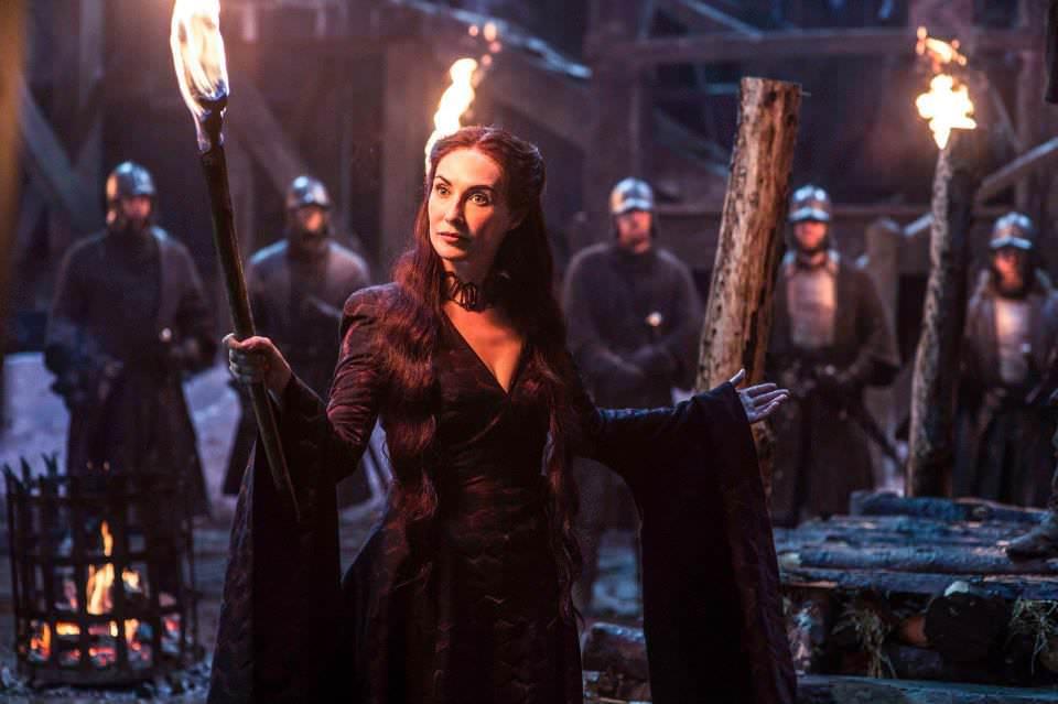 Carice van Houten as Melisandre – photo Helen Sloan/HBO