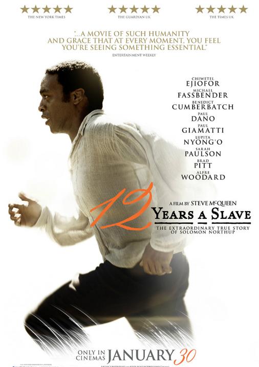 12 Years a Slave ganadora del Oscar como Mejor Película de los Premios Oscar 2014