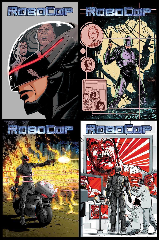 robocop comics 2014