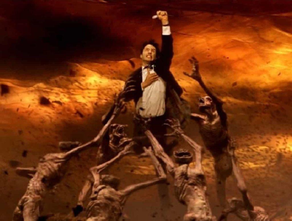 """Keanu Reeves: """"Siempre he buscado interpretar a Constatine una vez más"""""""
