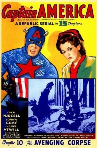 Cartel del primer Capitán América