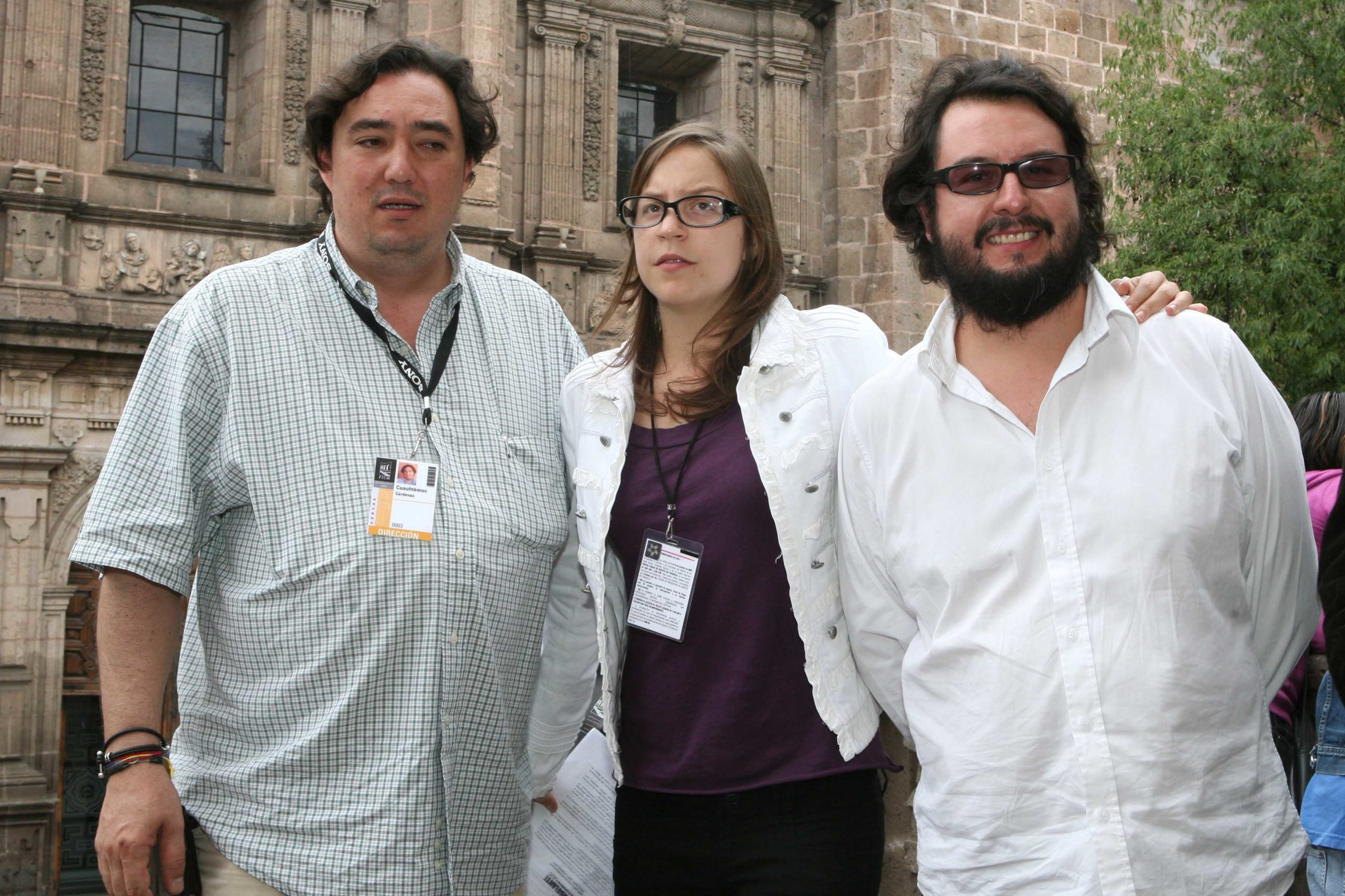 Cuauhtemoc Cardenas Batel (Vicepresidente del FICM), Elena Fortes (Directora Ambulante) y Pablo Cruz (socio de Canana Films y fundador Ambulante). Foto: Paulo Vidales/Imagen Latente